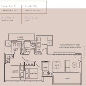 wilshire-residences-floor-plan-2-bedroom-+-guest-type-b1-g-singapore